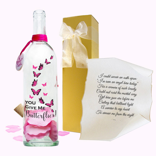 Anticipation gift by Message In A Bottle