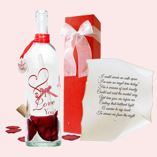 Cupid gift by Message In A Bottle